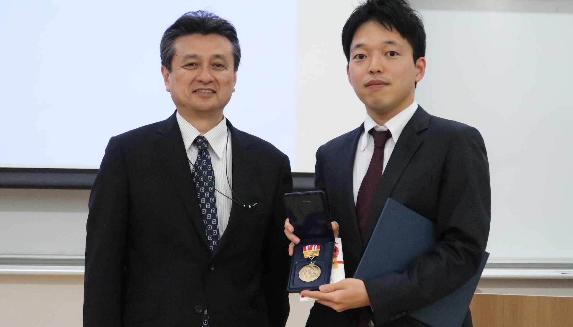 菊池寛昭先生が東京医科歯科大学医師会賞を受賞