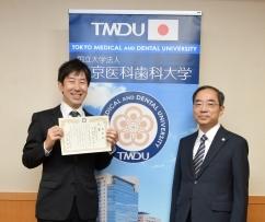 須佐紘一郎助教 大学改革アイデアコンテストで特賞を受賞